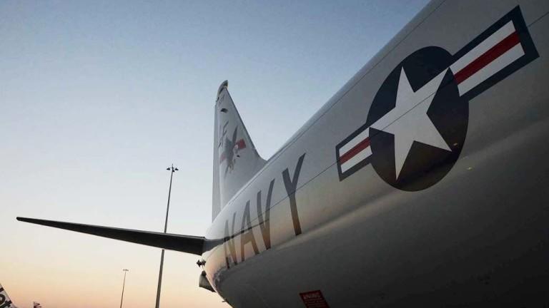 Военен самолет на САЩ засечен близо до руските военни бази в Сирия