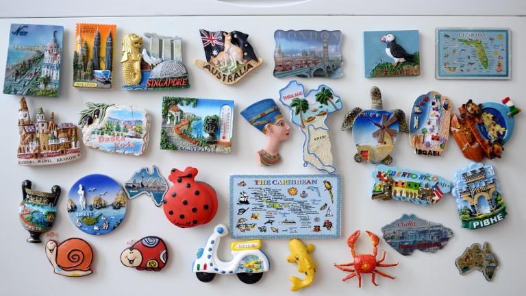 Най-популярните сувенири, продавани във всяка страна по света