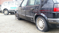 22 автомобила осъмнаха с нарязани гуми в Силистра