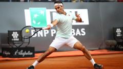 Федерер: Не мога да кажа, че е възможно да спечеля в Париж