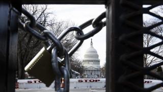 Въоръжен се опита да влезе в Капитолия