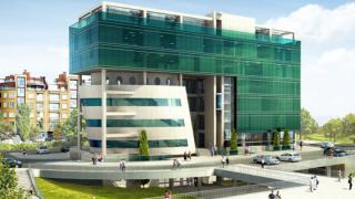 Изграждат бизнес център с уникална форма в столичния Люлин