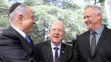 """""""Синьо и бяло"""" на Ганц отмени преговорите с Нетаняху за коалиция"""