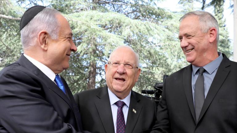 Нетаняху и Ганц със споразумение, управляват ротационно