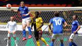 Уотфорд и Лестър не излъчиха победител след два късни гола