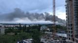 Силен пожар в София