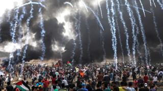 Над 1 100 ранени след вчерашния протест на ивицата Газа