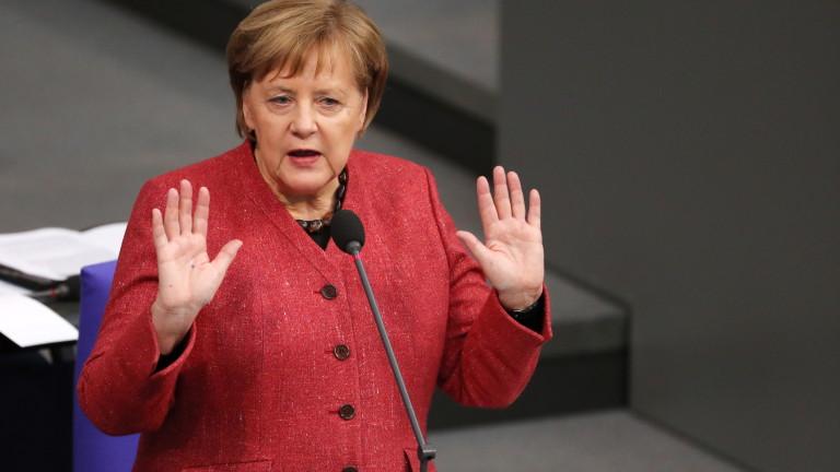 Германският канцлер Ангела Меркел повтори, че няма да предоговарят споразумението