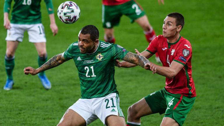 Валентин Антов изигра силен мач при равенството 0:0 на България