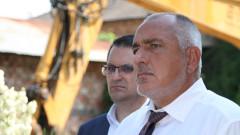 Премиерът Борисов изпрати министър Ананиев на финала за Купата на България