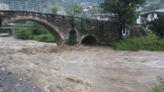Скъсването на дигата при река Чая заради преместване на коритото на реката