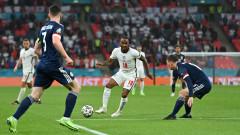 Беззъба Англия се провали в един от най-дългоочакваните мачове на Евро 2020