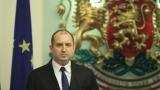 Президентът разглежда освобождаването на Маринов след командировката си