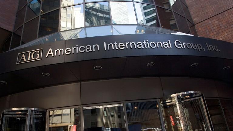Един от големите играчи в застраховането American International Group (AIG)