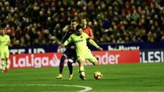 Тотална доминация за Барселона в мачовете с Леванте