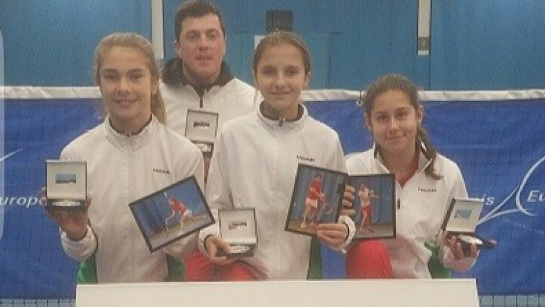 Талантите на България доказаха, че страната ни има бъдеще в тениса