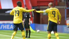 Арсенал матира Шефилд Юн в края и е полуфиналист за Купата на Англия