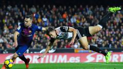 Барселона - Валенсия 1:0 (Развой на срещата по минути)