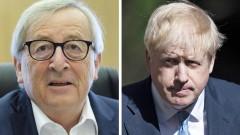 Вероятността от Брекзит без сделка се увеличи, Юнкер отхвърли исканията на Борис