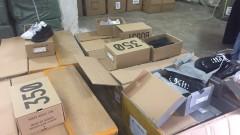 Откриха фалшиви маратонки и портмонета за над 4 млн. лв. в пратка от Китай