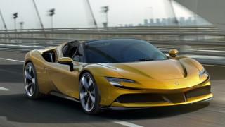 Най-бързото Ferrari остана без таван