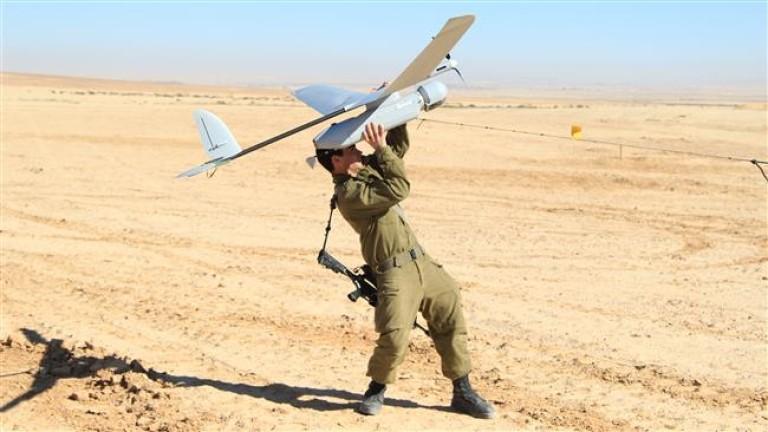 Израел свалят сирийски разузнавателен дрон над Голанските възвишения