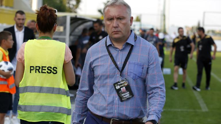 Николай Киров измести тренировка на Ботев (Пловдив) заради опасение от шпионаж