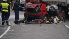 Четирима души загинаха при тежка катастрофа на пътя Варна-Бургас
