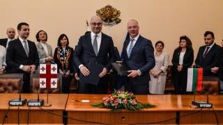 Желязков доволен от фериботните ни връзки с Грузия