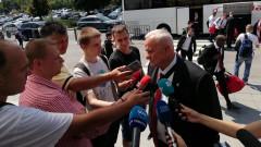 Петрович: Няма само да се защитаваме, в никакъв случай не се чувстваме притеснени