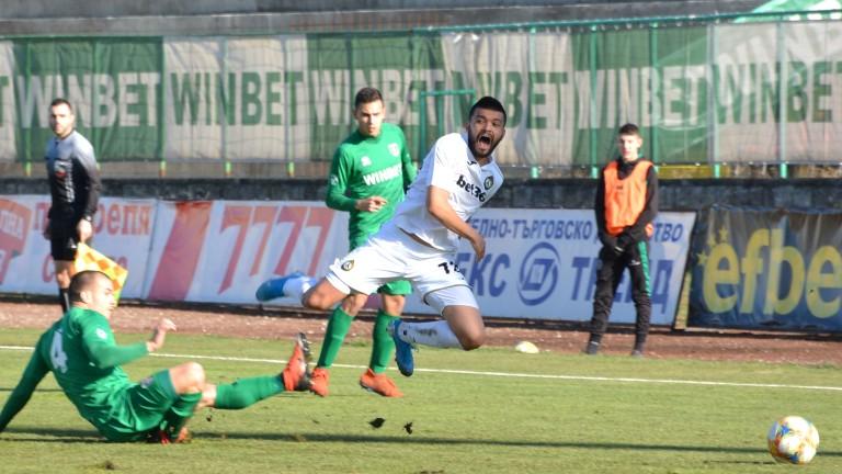 Третият в есенното класиране на Северозападната Трета лига Вихър (Славяново)
