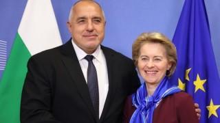 Антикризисните мерки на ЕК обсъдиха Борисов и Лайен