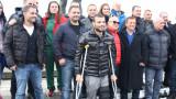 Националите ни по самбо и бойно самбо почетоха Дан Колов