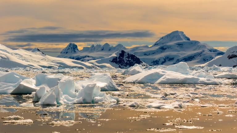 За първи път в историята над 20 градуса по Целзий на Южния полюс