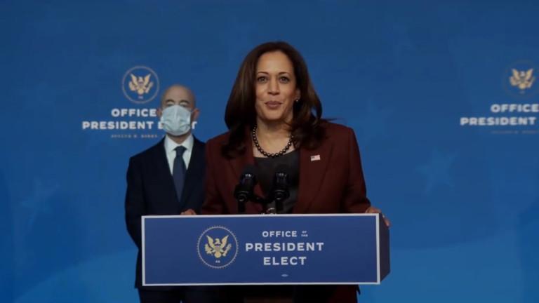 Избраният вицепрезидент Харис все още не е говорила с Пенс
