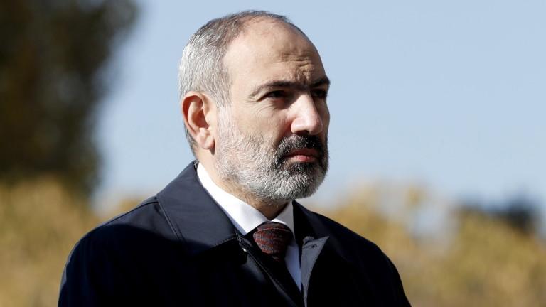 """Опозицията в Армения обяви """"гражданско неподчинение"""" за свалянето на Пашинян"""