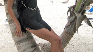 Мариела посреща 2008-а в Доминикана
