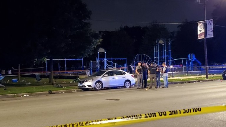 Стрелба и в парк на Чикаго