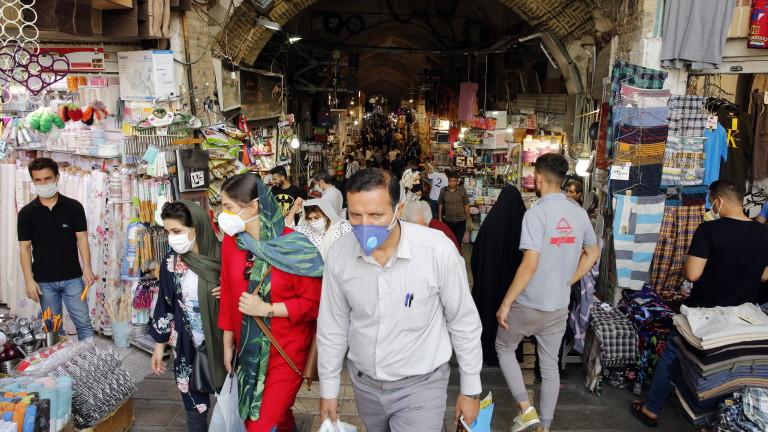 Иран обяви рекорден брой починали в рамките на 24 часа