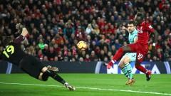 За втори път Арсенал получава четири гола от Ливърпул за едно полувреме