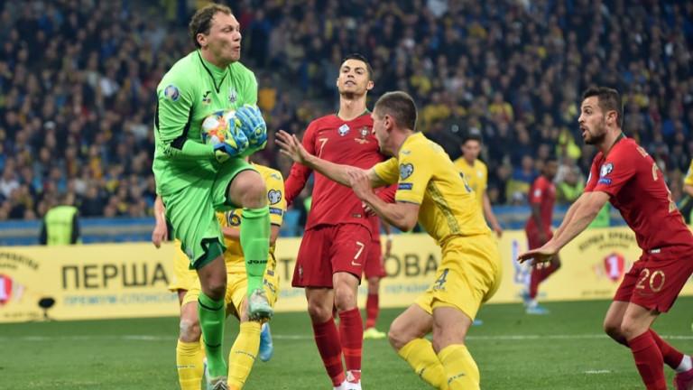 Украйна стана поредният отбор, който се класира за Евро 2020.