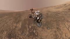"""""""Кюриосити"""" поема по марсианския хребет Vera Rubin"""