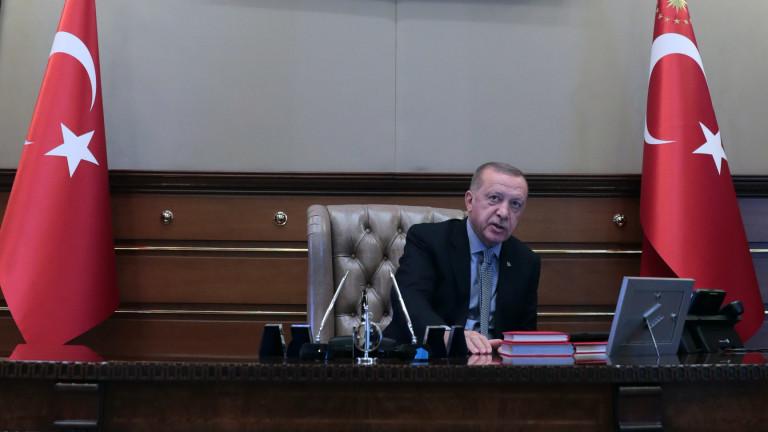Турският президент РеджепЕрдоган хвърлил писмото на Тръмп в боклука, съобщава