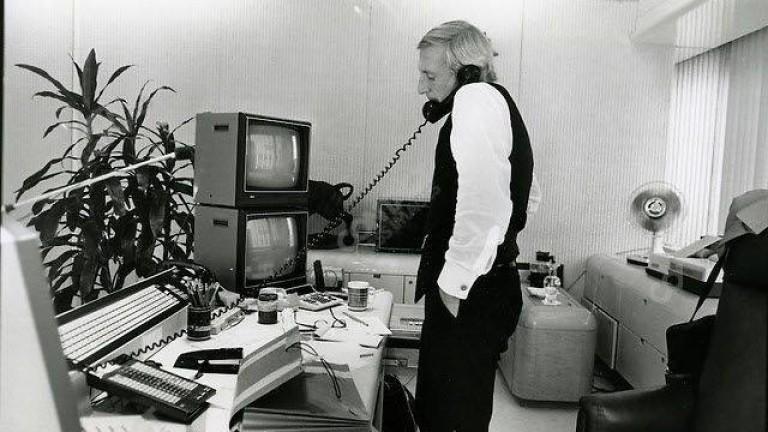 През 1985 г. Иван Боески казва на възпитаниците на Haas