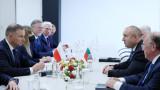Достиженията на България и Хърватия за Шенген изтъкнаха Радев и Пленкович