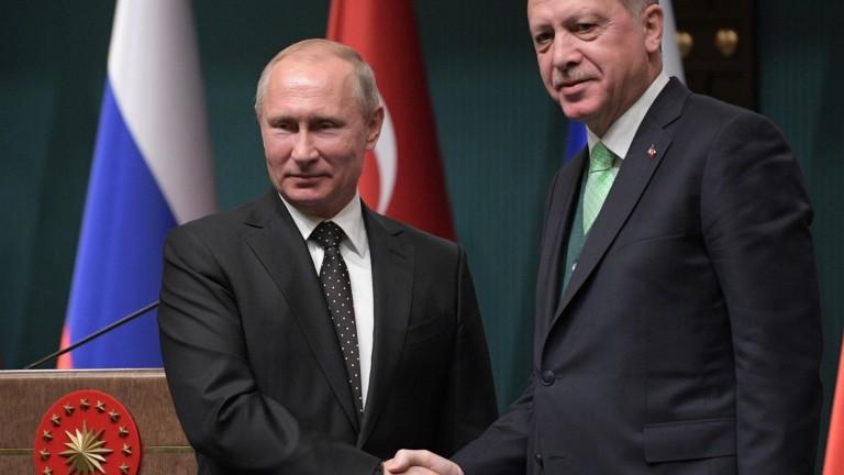 Путин и Ердоган считат, че решението на САЩ за Йерусалим ще има дестаблизиращо влияние