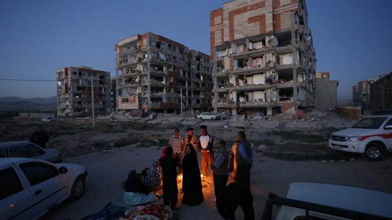 Поредно силно земетресение в Иран