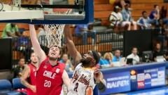Баскетболистът на Ямбол Ларон Смит с отличен мач срещу Чили