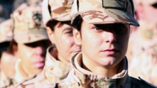 Искат по-малко жени в сухопътните войски