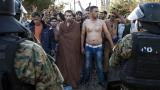 Протестиращи мигранти блокираха жп трафика между Гърция и Македония